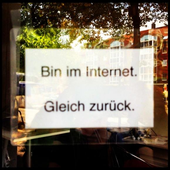 Bin im Internet